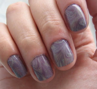 Nails of the day (Marble)