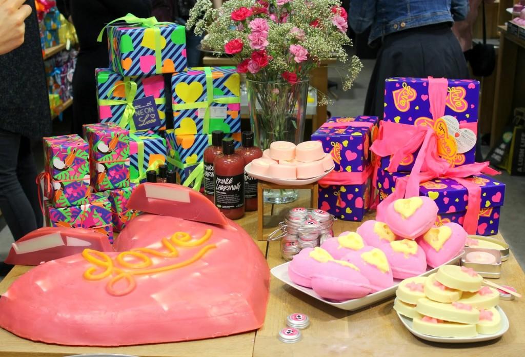Event} Lush Valentinstag Produkte - Kirschblütenblog