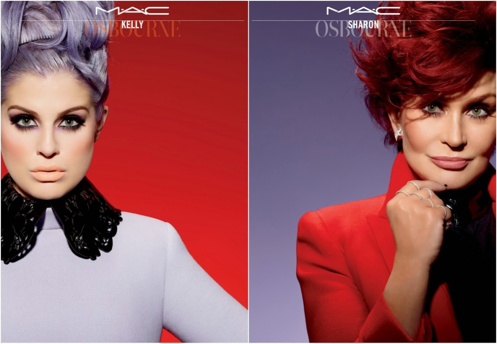 {Top News} Sharon & Kelly Osbourne MAC LE
