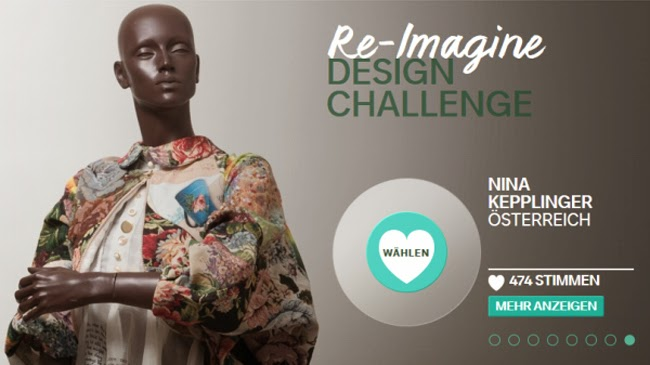 C&A Re-Imagine Design Challenge – Votet für Nina Kepplinger