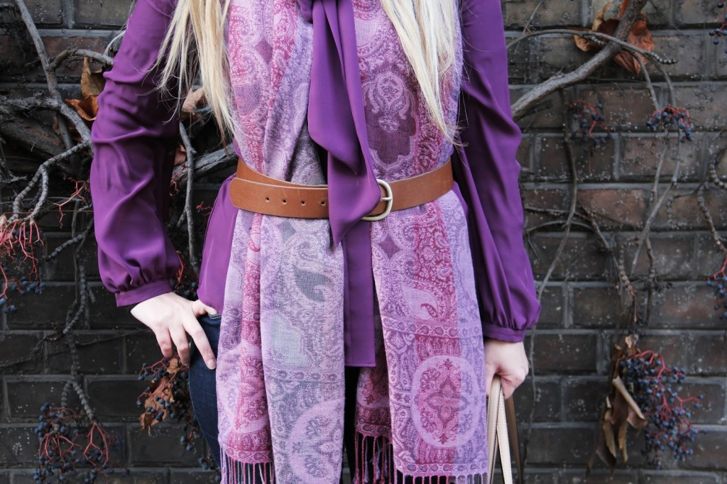 Outfit of the day Primark Purple Passion Inspiration Olivia Palermo