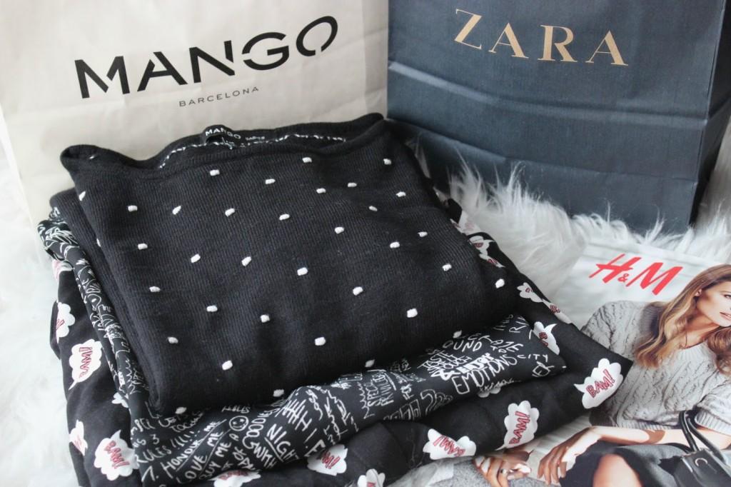 {HAUL} SALE Shopping bei ZARA, H&M & MANGO