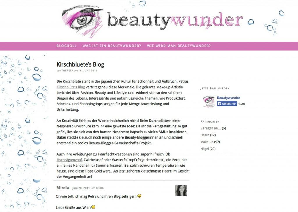 Beautywunder Kirschblute s beauty blog wien osterreich