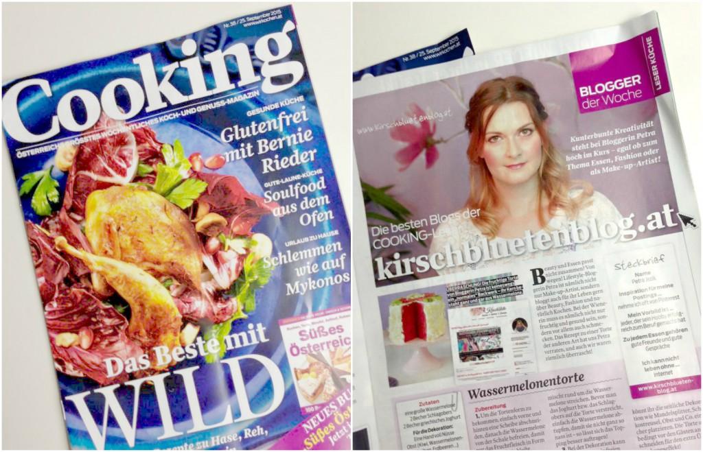 Cooking Magazin Kirschblutenblog Petra Kirschblute