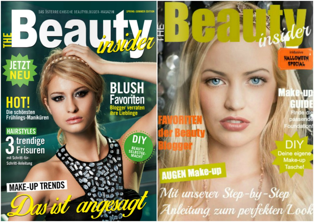 The Beauty Insider Online Blogger Magazin Ausgaben