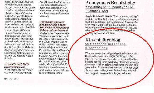 wienerin magazin Artikel beauty blog wien osterreich