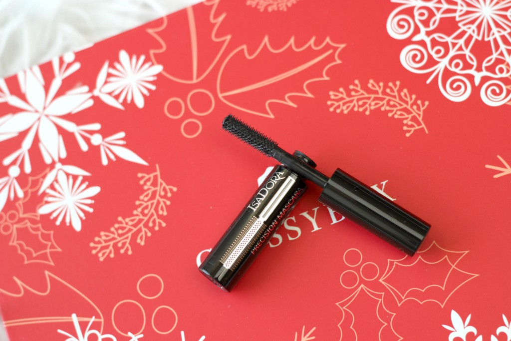 Glossybox Dezember 2015 Winter Wonders Isadora Precision Mascara