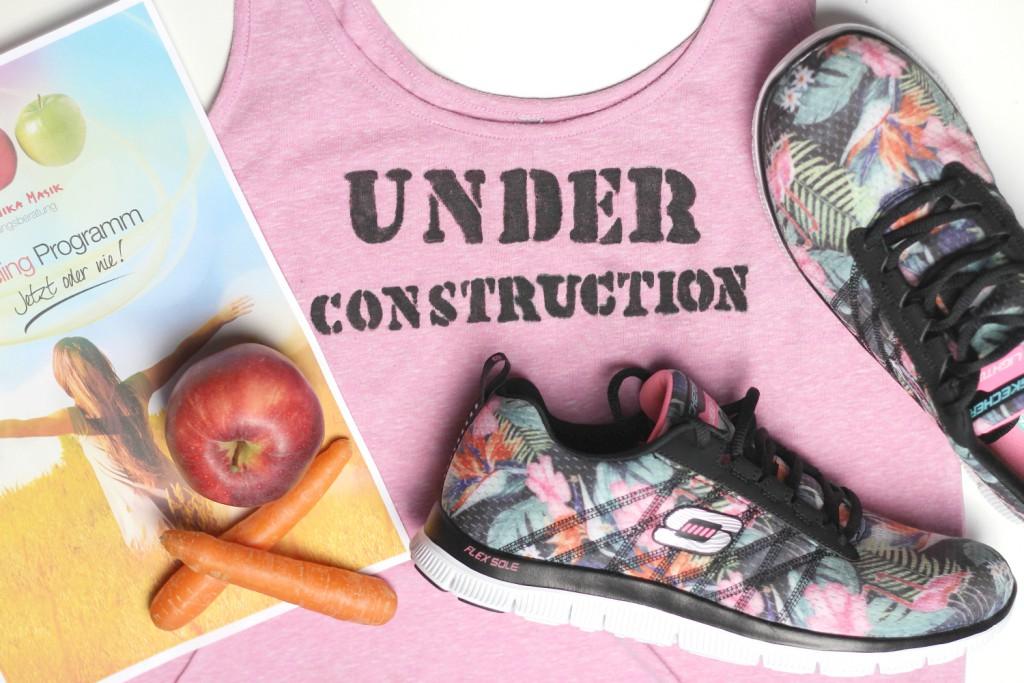 Abnehmen Woman Body Challenge Bloggerin Kirschblute