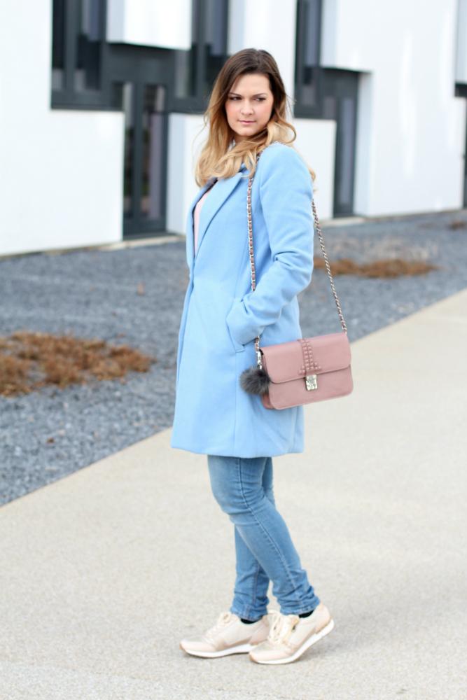 Blogger Outfit Pastell Rose Quartz Serenity Pantone Farbe des Jahres 2016 Blog Osterreich