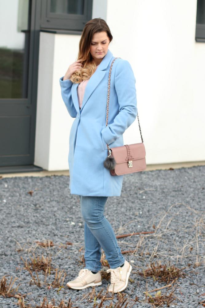 Blogger Outfit Pastell Rose Quartz Serenity Pantone Farbe des Jahres 2016 Fashionblogger