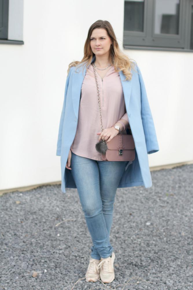 Blogger Outfit Pastell Rose Quartz Serenity Pantone Lifestyleblog Wien