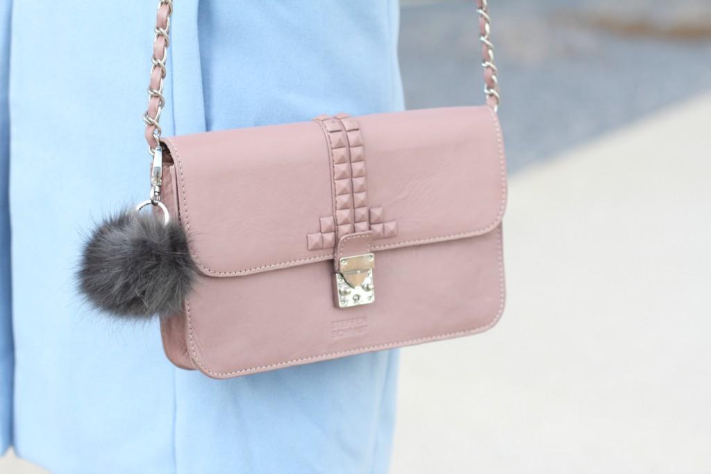 Pastell Blogger Outfit Rose Quartz Serenity Fashionblogger Osterreich Steffen Schraut Bag