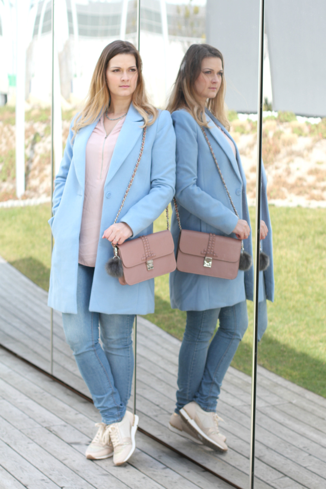 Pastell Blogger Outfit Rose Quartz Serenity Pantone Farben des Jahres Fashionblog Osterreich a