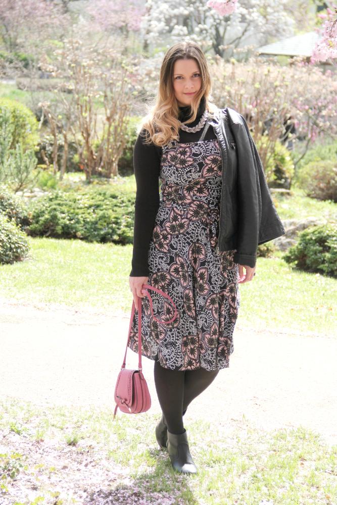 Blogger Outfit Lederjacke Kombi Chloe Lookalike