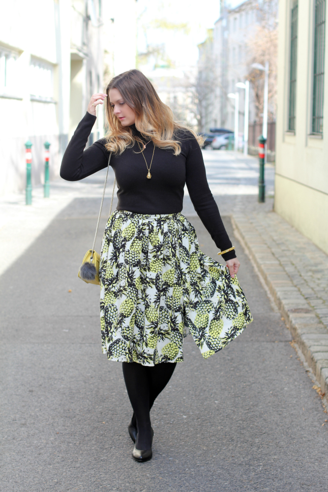 Blogger Outfit Midi Rock Spring