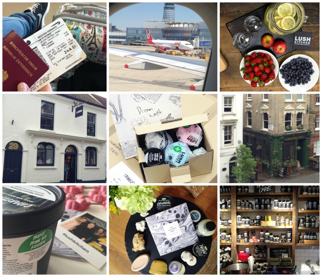 LUSH London Blogger Presse Reise