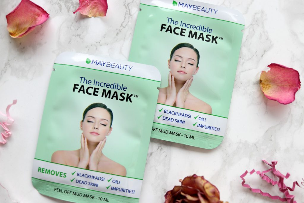 Glossybox MayBeauty incredible face mask
