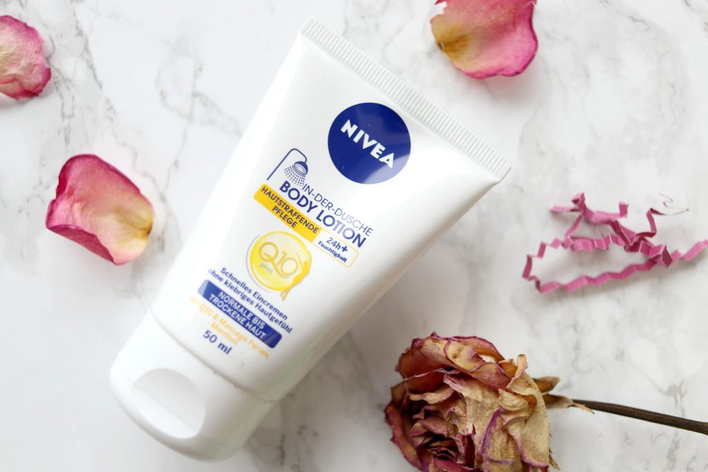 Nivea in der Dusche Bodylotion