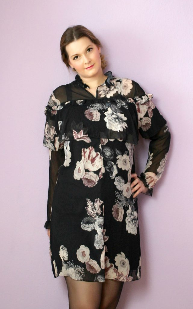 tk maxx outfit haul new in spring flower blouse plisee