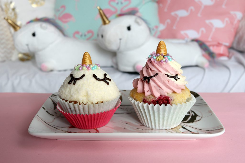 unicorn cupcakes diy