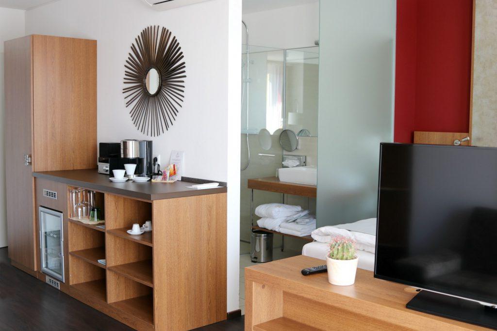 Amedia Luxury Suites Graz Hotelzimmer