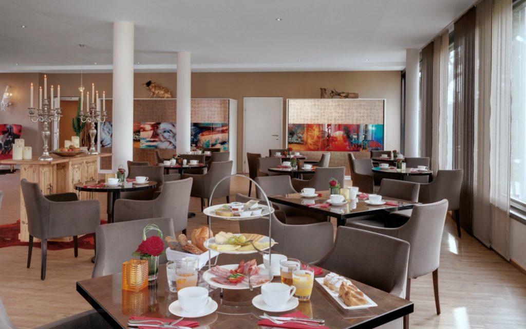 Graz Amedia Luxury Suites Fruhstuck Raum