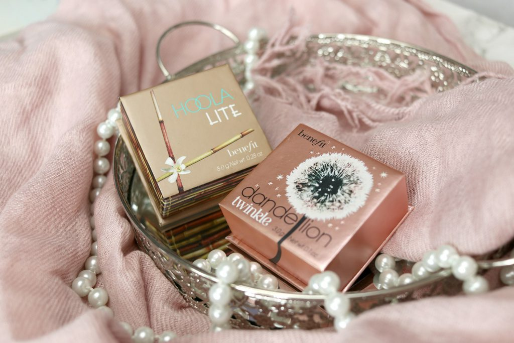 benefit hoola dandelion bronzer highlighter