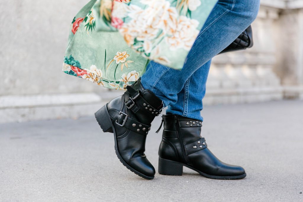 Blogger Outfit Deichmann Boots