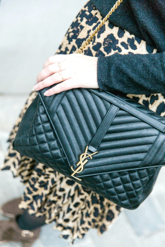 Blogger Outfit YSL Bag