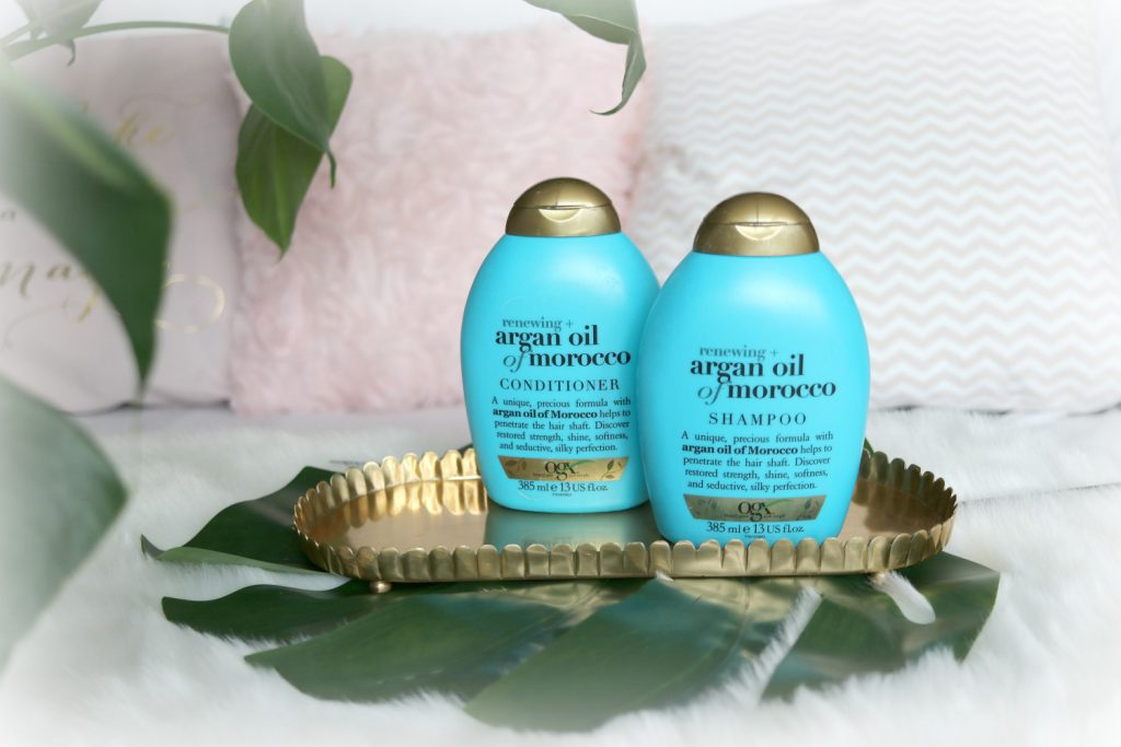 ogx argan oil of morocco shampoo conditioner