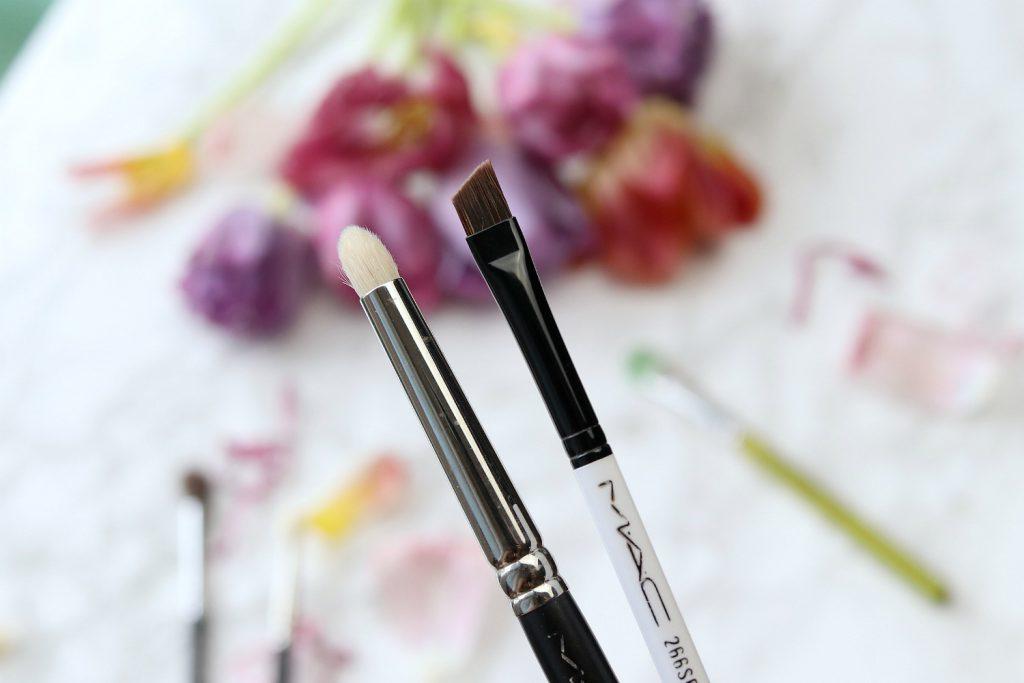 Pinsel Favoriten Augen Make up Lidschatten MAC 266 eyeliner brush 209 pencil brush