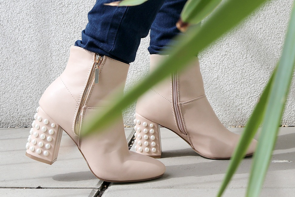 DIY Do It Yourself Perlen Boots