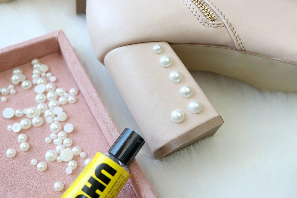 DIY Perlen Boots Anleitung