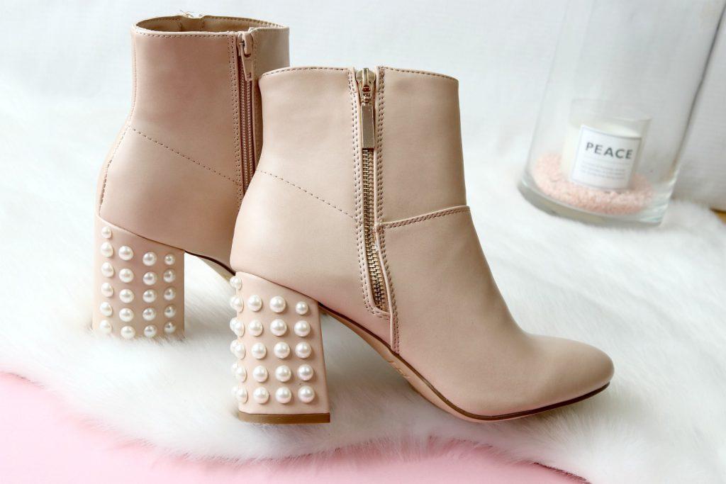 DIY Perlen Boots Selbstgemacht