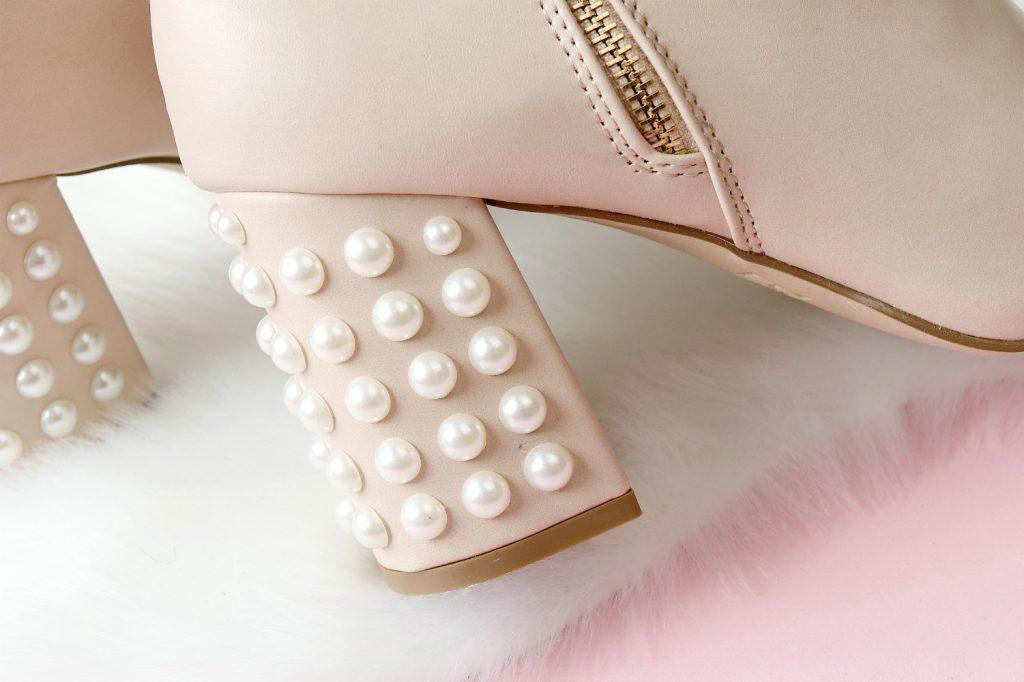 DIY Perlen Schuhe