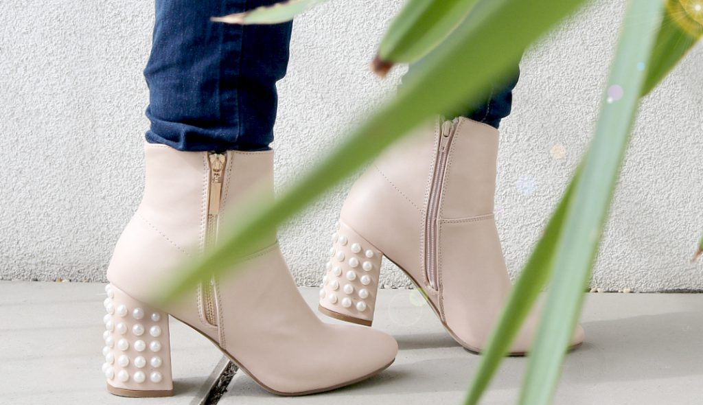 Pearl Boots DIY selbstgemacht