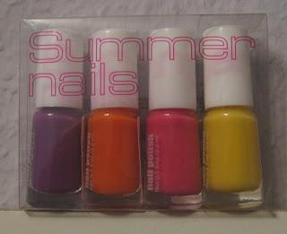 H&M Summer nails