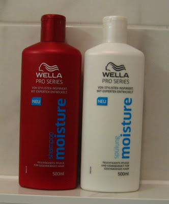 Wella Pro Series Shampoo + Spülung