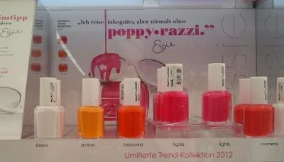 Essie Poppy Razzi LE inkl. Swatch