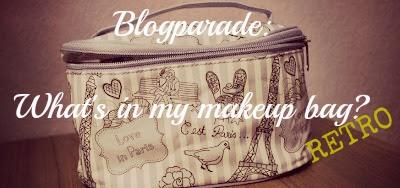 {Blogparade} What's in my makeup bag – anno … (Retro-Version)