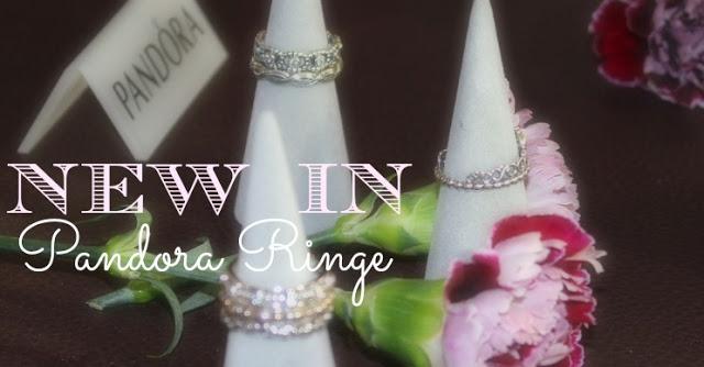 {New in} Pandora Ringe