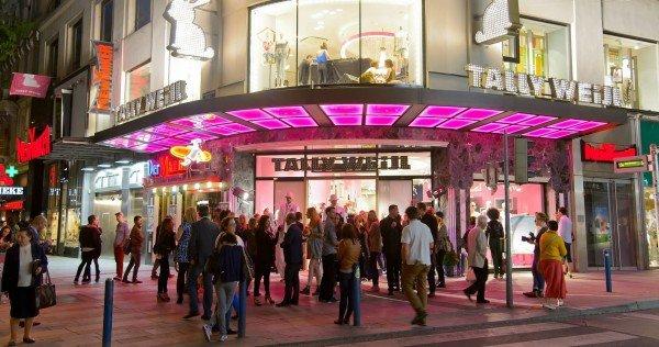 {Event} Tally Weijl Flagshipstore Eröffnung Wien Mariahilferstraße