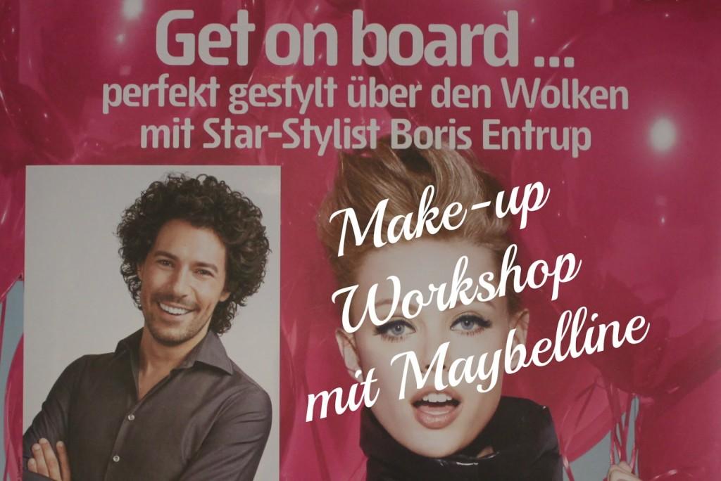 {Event} Maybelline Make-up Workshop mit Boris Entrup