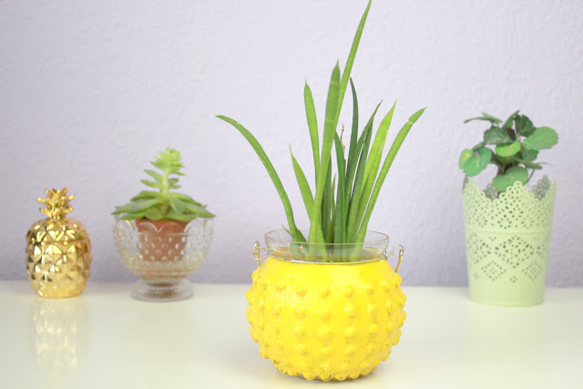 {DIY} Ananas Vase