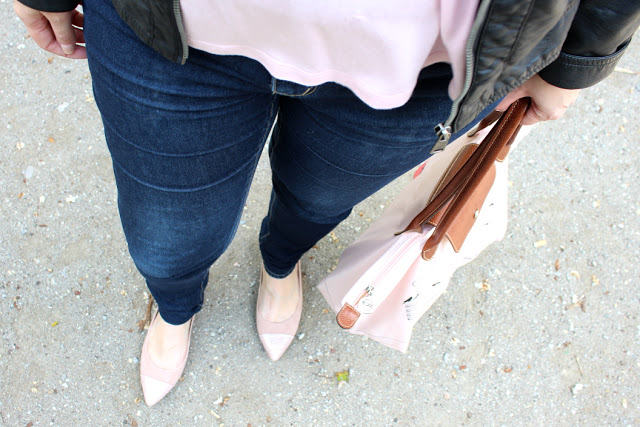 {Outfit of the day} Pink Pastel makes me happy