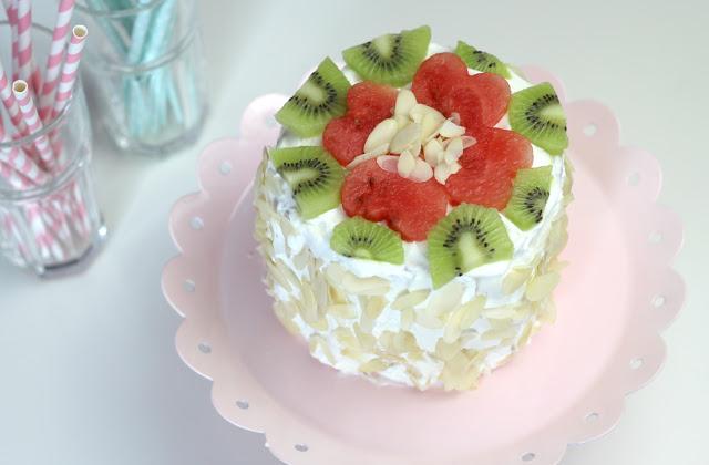 {DIY} Wassermelonen-Torte