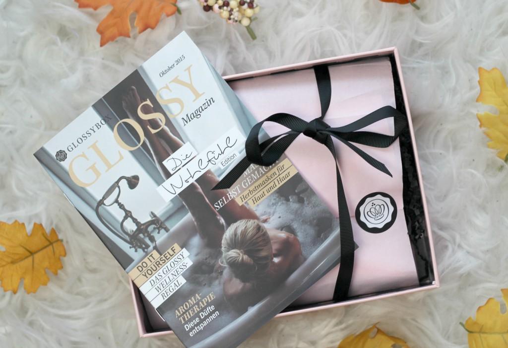 {Glossybox} Oktober – Die Wohlfühl Edition