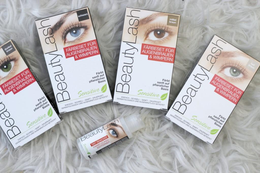 Augenbrauen färben mit Beautylash inkl. Gewinnspiel