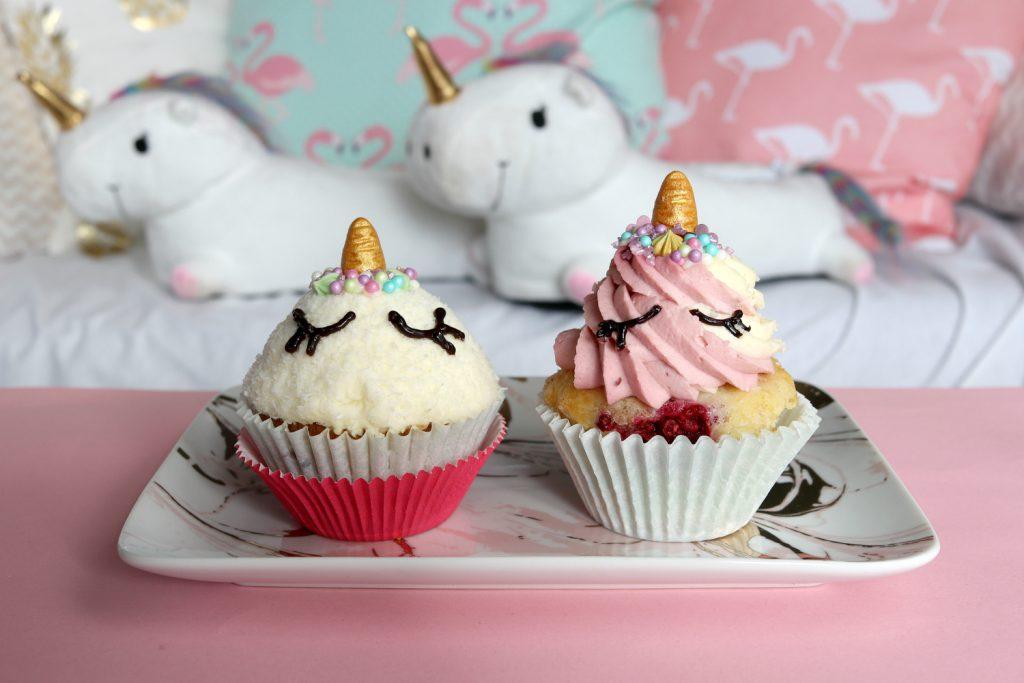 {DIY} Unicorn Cupcakes