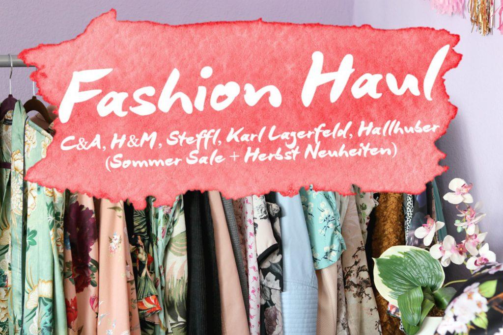 Fashion Haul, 2. Teil (H&M, Steffl, Hallhuber, C&A)